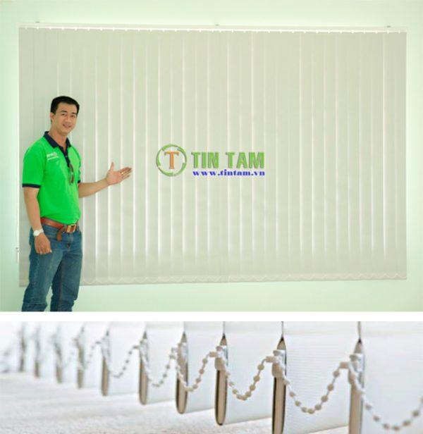 thi công rèm lá dọc tại tphcm