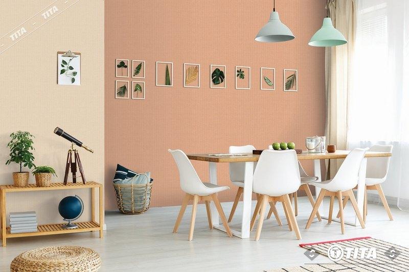 mẫu giấy dán tường phòng khách đẹp tphcm