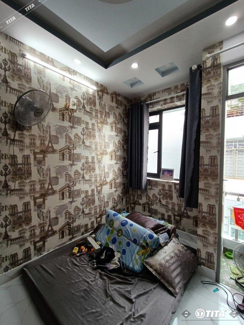 giấy dán tường 3d phòng ngủ ấn tượng 65485-1