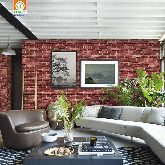 giấy dán tường 3d cho phòng khách đẹp