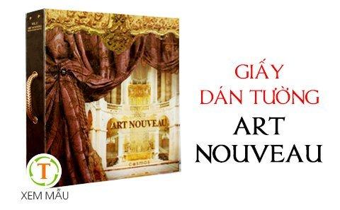 gia Giấy dán tường Art Nouveau v.16