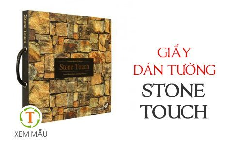 gia Giấy dán tường Stone Touch