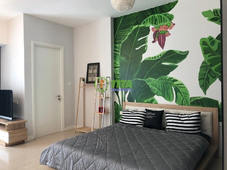 tranh dán tường phòng ngủ đẹp tại tphcm