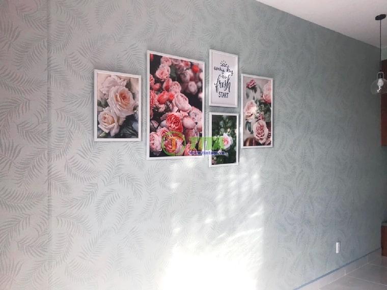 Giấy dán tường đẹp cho phòng khách
