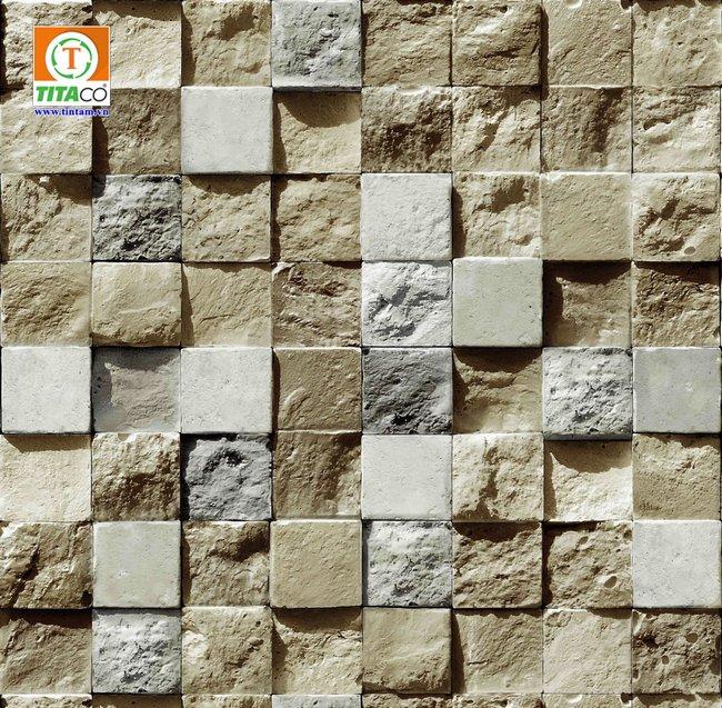 giấy dán tường giả gạch đá 85018-1