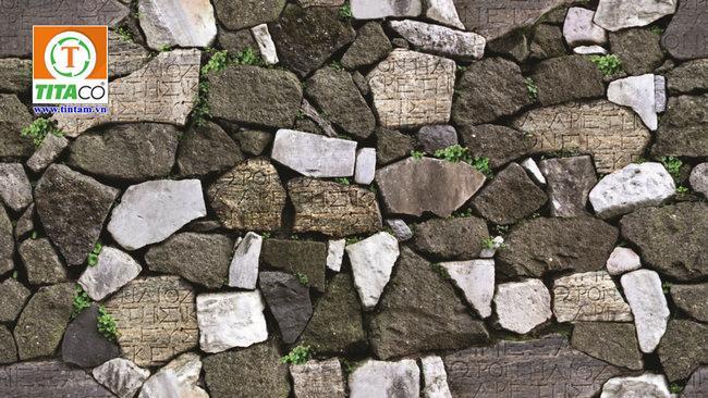 giấy dán tường giả đá 3d 87012-3