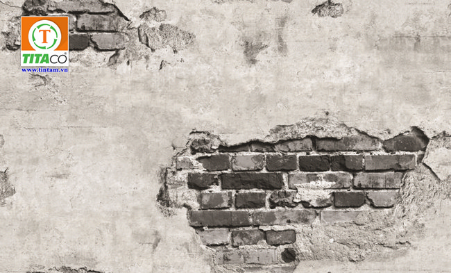 giấy dán tường giả gạch 87034-1