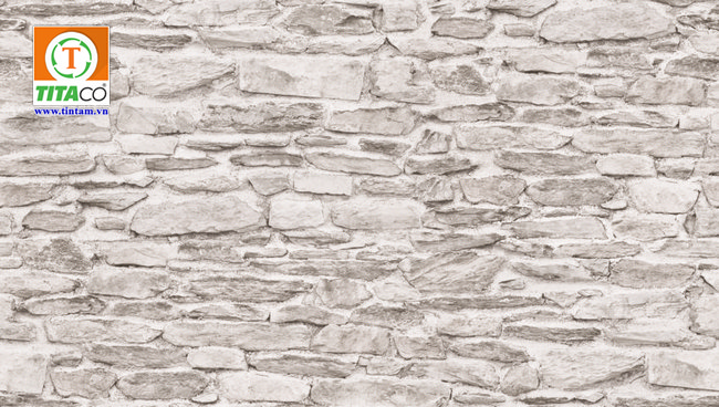 giấy dán tường 3d giả đá 88434-1